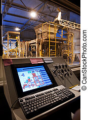 Factory control room