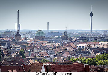Nuremberg - An image of Nuremberg in Bavaria Germany