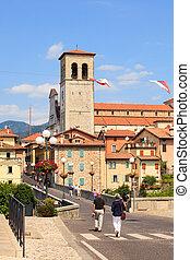 View of the Devil bridge, Cividale del Friuli - Italy