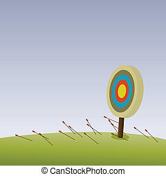 Totally Missed - All arrows missed their target Hell of an...