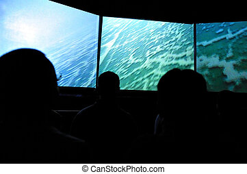 Travel Photos of Israel - Qumran Caves - 3D Show about the...