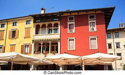 Paolo Diacono Square, Cividale del friuli, Italy - View...