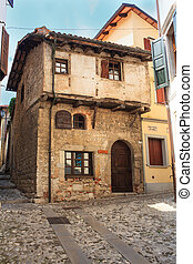 Medieval house, Cividale del Friuli - View of Medieval...