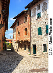 Cividale del Friuli - Italy - View of houses, Cividale del...