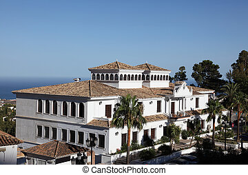Building in Mijas, Andalusia Spain