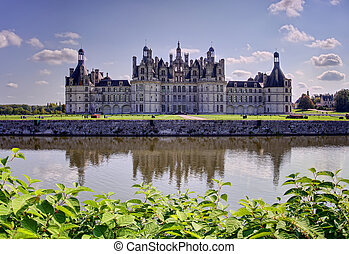 Chambord castle, France - Chambord, the biggest french...