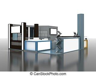 Exhibition Stand InteriorExterior Sample - Exhibition Stand...