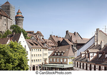Nuremberg - An image of the Castle of Nuremberg Bavaria...
