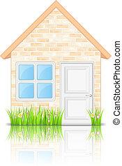 Brick house icon