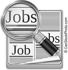 Image result for looking for a job clipart