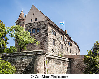 Castle of Nuremberg Bavaria Germany - An image of the Castle...