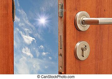 Door open