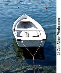 fishing boat on Mediterranean sea