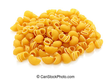 macaroni - Call pasta macaroni with elbow trimmed spline and...
