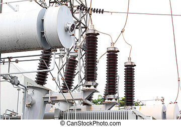 Substation electric power high voltage - A substation is a...
