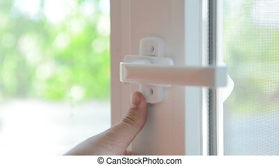 installing of window - HD. installing of window by means of...