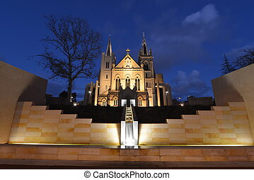 Saint Mary's Cathedral, Perth at Dusk