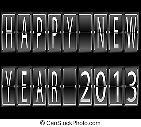 happy New Year 2013 terminal - happy New Year 2013 Set of...