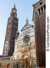 Cremona, Duomo - The medieval cathedral of Cremona...