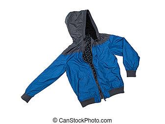 Wind-jacket isolated on the white background