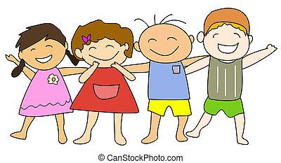 Good Friends - Happy kids & friends
