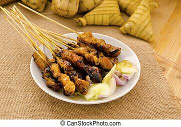 satay malay hari raya foods ,focus on satay