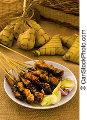 satay malay hari raya foods ,focus on satay