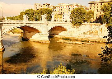 Ponte Vittorio Emanuele II in Rome - The Ponte Vittorio...