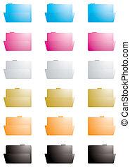 folder transparent