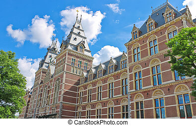 Rijksmuseum in Amsterdam Netherlands