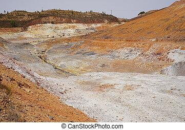 przemysł, minerał, Hiszpania