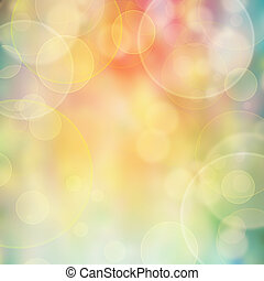 Color lights blur background