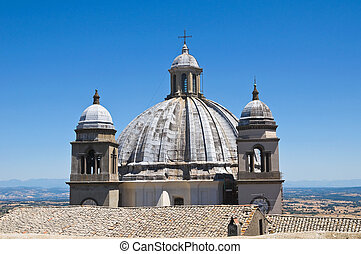 Cathedral of St Margherita Montefiascone Lazio Italy