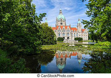 City Hall of Hannover, Germany