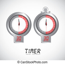 illustration of timers