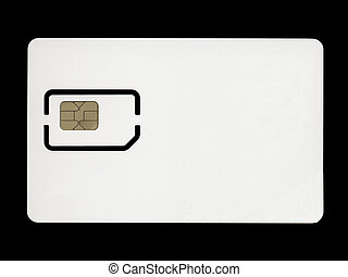 Sim card for mobile phone or smartphone or tablet computer