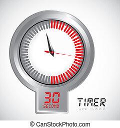 illustration of timer