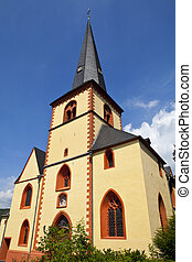 Kirche St Martin in Linz, Germany - Kirche St Martin in Linz...