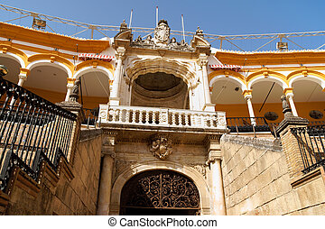 Plaza de toros de la Real Maestranza in Seville - Royal...