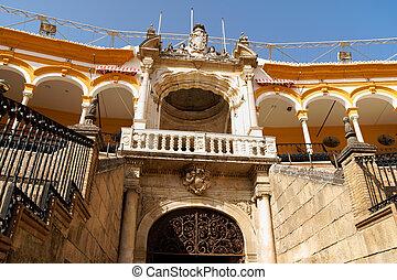 Plaza de toros de la Real Maestranza in Seville - Royal...