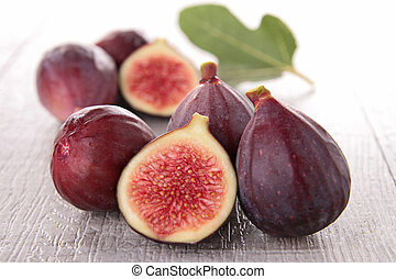 group of fresh figs