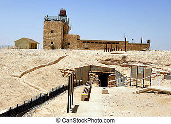 Travel Photos Israel - Negev Desert - Mitzpe Revivim Museum....