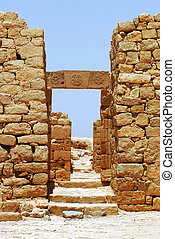 Travel Photos Israel - Negev Desert - Gates of ancient...