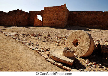 Travel Photos Israel - Negev Desert - Ruins of the Byzantian...