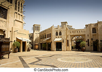 Arabic bazar Middle East Dubai - Arabic bazar in Middle East...