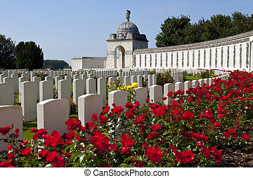 Tyne Cot Cemetery in Ypres, Belgium Tyne Cot Commonwealth...