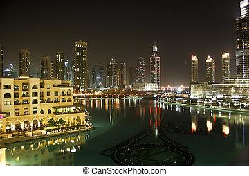 Dubai Old City by Night