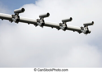 CCTV, Traffic Camera - CCTV, security camera, watching every...