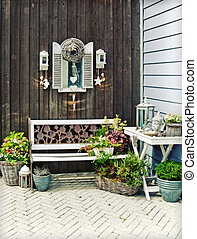home garden - flowers and seasonal plants by home garden