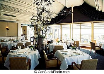 interior of restaurant